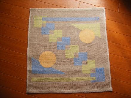 透かし織り、○、△、□