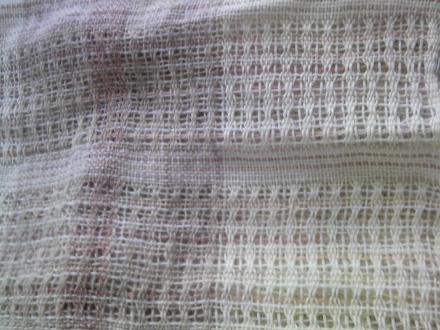 ブーケ織りのショール