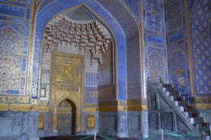 モスク内部のミフラーブ