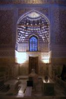 グル・エミール廟の中の棺