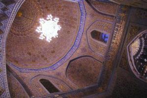グル・エミール廟内部の装飾