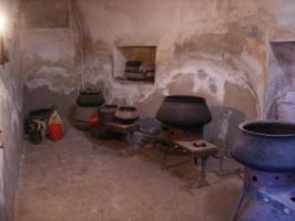 ブハラ・絨毯工房の染め場2