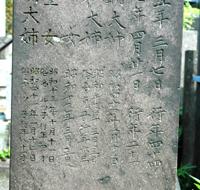 ルツ子墓標UP