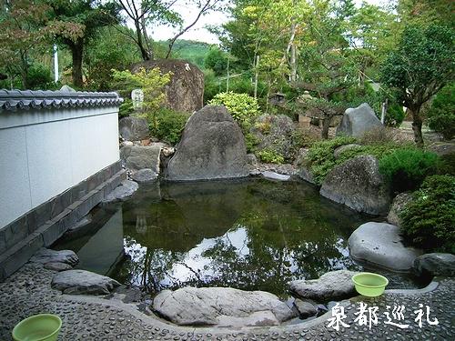 鶴川温泉 露天(男湯)