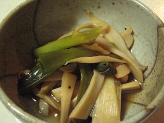 エリンギの中華風煮びたし