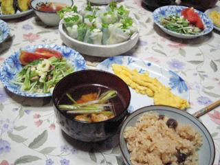 11月29日の晩御飯