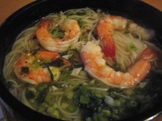 塩ネギ素麺