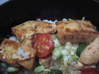 豆腐照り焼き丼
