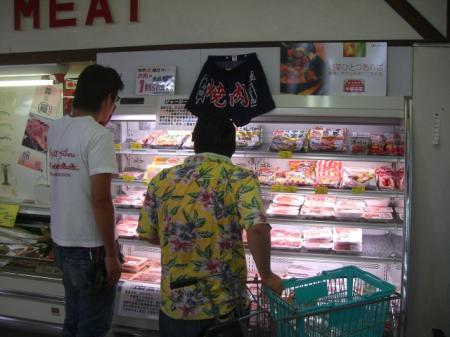 焼き肉コーナー