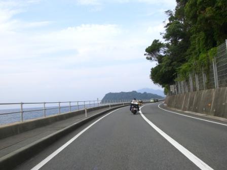 16:36萩から田万川へ