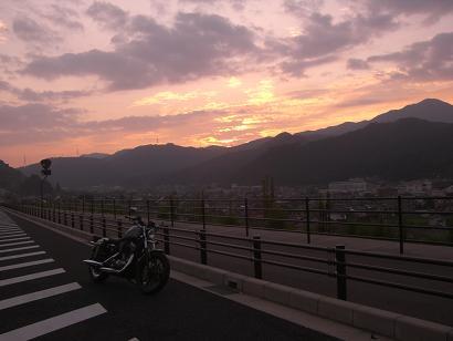 6:00朝日