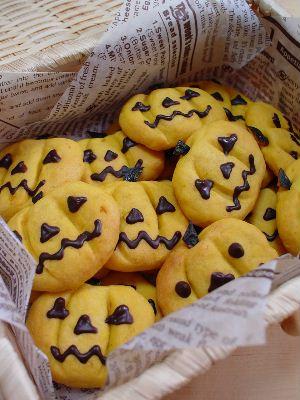 ハロウィン*かぼちゃクッキー2