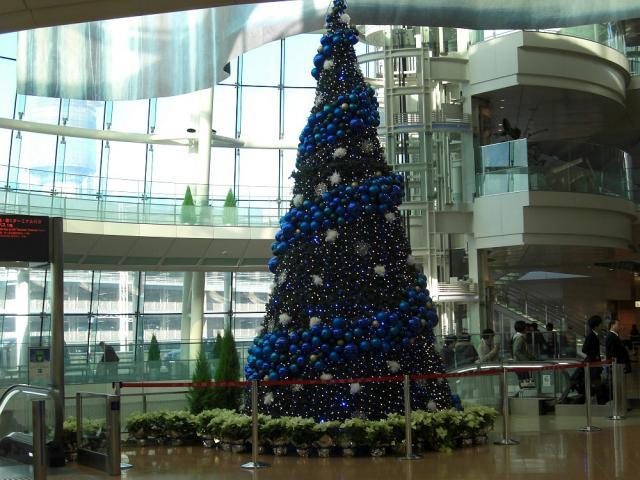 クリスマスツリー:クリックして大きな画像でご覧ください