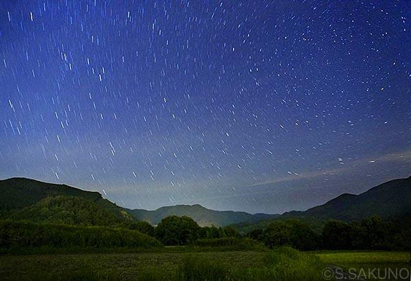 大津の星空