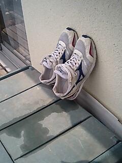 20080820シューズ洗う