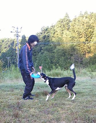 広島大会前、最後の朝練(コテツ&キラ)