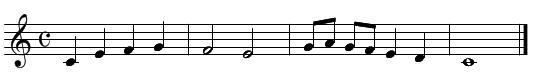 旋律聴音(問題3)