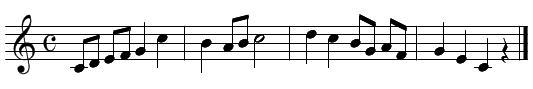 旋律聴音(問題4)