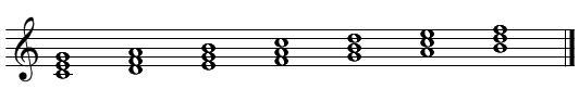 和声・コード進行(メロディーにコードをつける)2