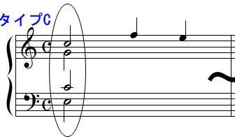 和声・コード(オクターブ配置)