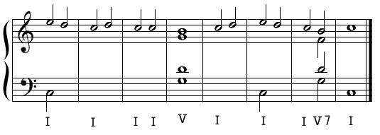 ソプラノ課題・例題1(手順3)