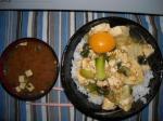 スキヤキ丼