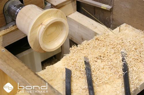 木の器・デザイン <p>オーダーメイドの木の器をロクロで削りながらデザインする</p>