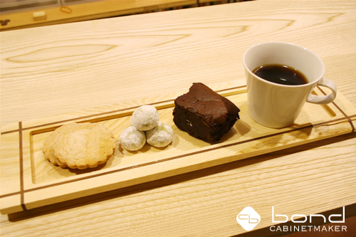 バレンタインデーにいただいた手作りの焼き菓子 バレンタインブレンドのコーヒーと一緒に