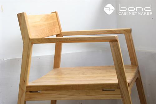 桜 ダイニングチェア(椅子) 横