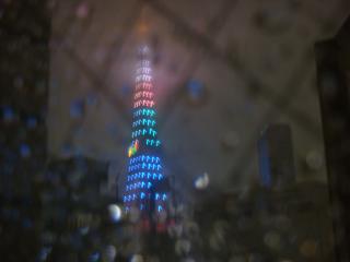 雨のタワー