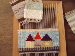 家でできる♡手織り雑貨がハイセンス♪アイデア&織り方。