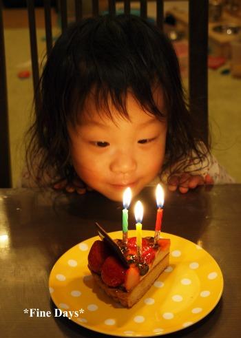 ゆうちゃん(3歳)