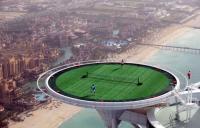 空中テニスコート
