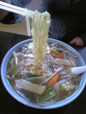 野菜あんかけラーメン2