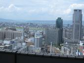 阪急スカイビルからの景色