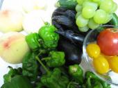 たくさんのお野菜