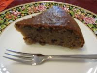 小豆とくるみの蒸しケーキ