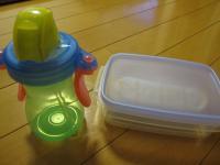 タッパー&水筒