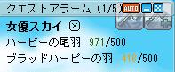 今日の羽20080203