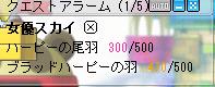 今日の羽20080212