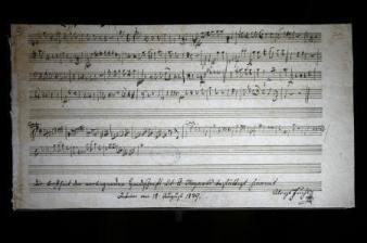 モーツァルトの未発表曲