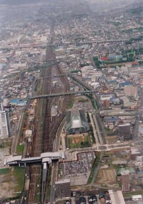 静岡駅付近