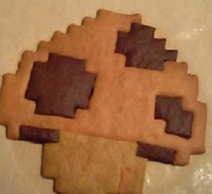 きのこクッキー