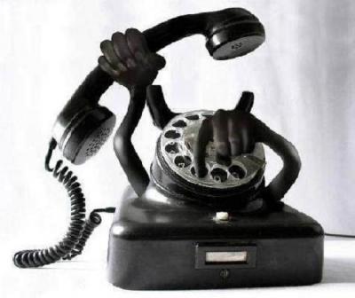 新化した留守番電話