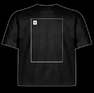 画像表示失敗Tシャツ