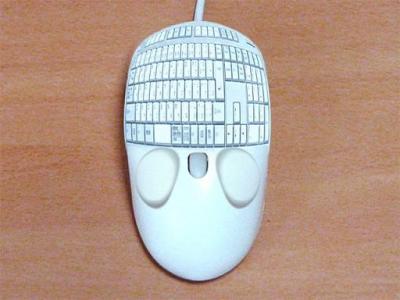 キーボード内蔵マウス