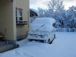 雪のT96M車