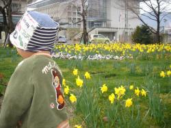 花と拓ちゃん