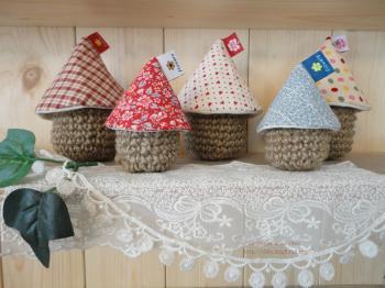 麻編みハウス