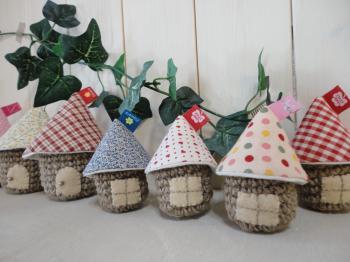 麻編みハウス1